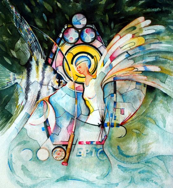 Angel Fisherman