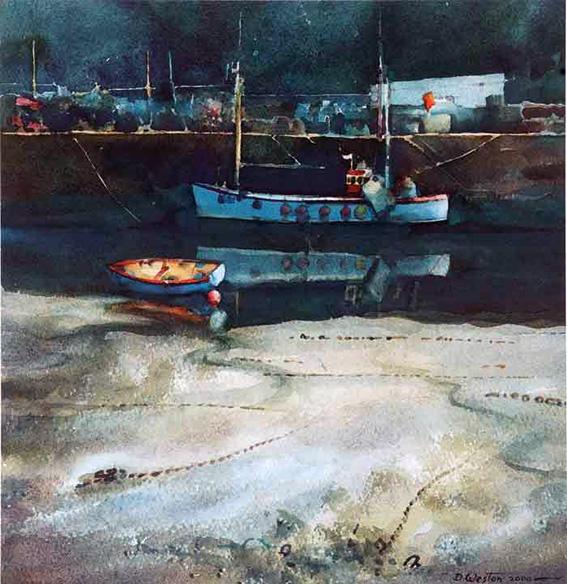 Blue Boat, Mevagissey