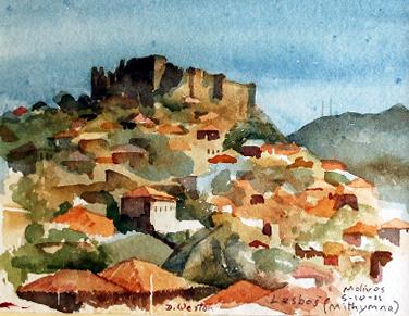 Castle at Lesbos